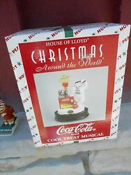 Nrfb House Of Lloyd Christmas Around The World Coca Cola Cool Treat Musical S17