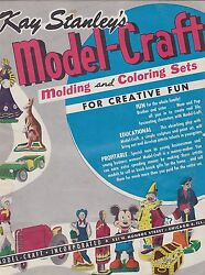 Misc-1099 - 1950s Kay Stanley Model Craft Catalog Mickey Mouse - Disney