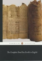 The Complete Dead Sea Scrolls In English Complete ... By Vermes, Geza Paperback