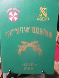 1965 Yearbook 728th Military Police Battalion Support Command Korea Rok  Ln