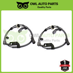 2pcs Abs Speed Sensor Fit Front Left And Right Dodge Caliber Jeep Compass Patriot