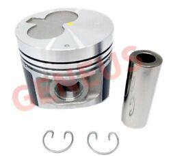 Piston With Pin For Iseki Engine E3cd Std 0.50 1.00