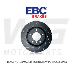 Ebc 365mm Ultimax Grooved Front Discs For Bmw X5 E70 4.4 Twin Turbo 50 2010-2013