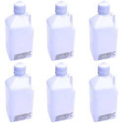 6 Pack Fda Approved 5 Gallon Heavy Duty Utilty Water And Food Jugs Container Five