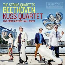 Kuss Quartet - Beethoven: The String Quartets: Live From Suntory Hall (NEW 8CD)