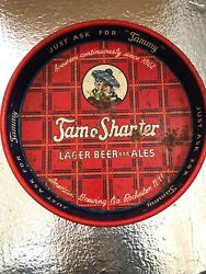 Vintage Tam O'shanter Lager Beer And Ales Metal Tray Rochester, Ny