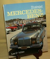 Mercedes Benz Buyers Guide Illustrated By Lee Gohlike Motorbooks Intl 1986 New