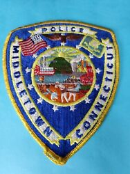 Middletown Connecticut Ct Police Shoulder Patch