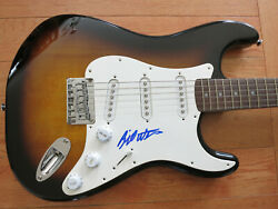 Bill Withers Signed Guitar In Person Coa + Proof Hall Of Fame Stand By Me