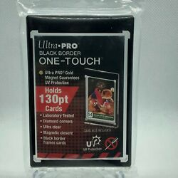 1 Ultra Pro Black Border One Touch Magnetic Ultra Clear Holder 130 Point UV