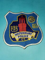 Waterbury Police Patch