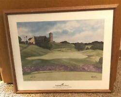 Eagle Ridge Inn And Resort The General Golf Course Signed Framed Painting 1997