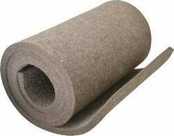 Made In Usa 1/2 Inch Thick X 60 Inch Wide X 12 Inch Long Pressed Wool Felt S...