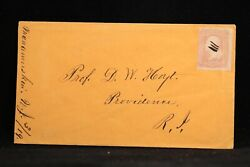 New Jersey Manamuskin 1860s 65 Cover Ms At Far Left Dpo Cumberland Co