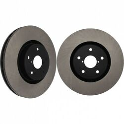 Centric Premium High-carbon Front Rotors Blank Pair For 05-17 Sti 125.47022 X2