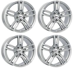 4 Ats Wheels Evolution 7.0jx16 Et52 5x112 Sil For Mini/bmw Clubman One Cooper On