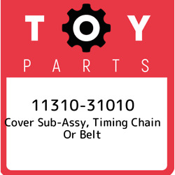 11310-31010 Toyota Cover Sub-assy Timing Chain Or Belt 1131031010 New Genuine