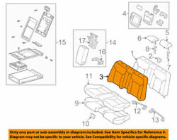 71077-53250-c1 Toyota Cover Rear Seat Back For Bench Type 7107753250c1 New G