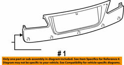 76801-53030-c1 Toyota Garnish Sub-assy Luggage Compartment Door Outside 768015