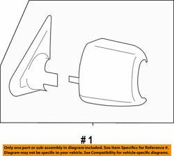 87940-0c213 Toyota Mirror Assy Outer Rear View Lh 879400c213 New Genuine Oem