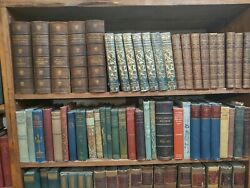 Vintage books Fill up 12 ft of Space All books older than 1911