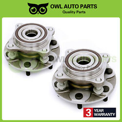 2pcs For Toyota Tacoma 2005-2012 Front Wheel Bearing Hub Assembly With 4wd Only