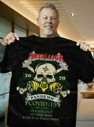 Metallica 2020 In Case Of Emergency Cut This T-Shirt