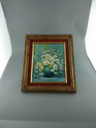 Antique Oil Painting Signed Framed 1500 Free Shipping