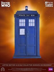 BIG CHIEF BBC DOCTOR WHO TARDIS 10TH DOCTOR ACTION FIGURE 16 DIORAMA BRAND NEW