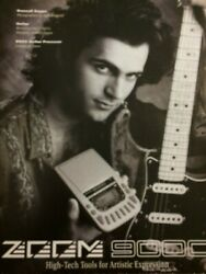 Dweezil Zappa Zoom Processor Full Page Vintage Promotional Ad