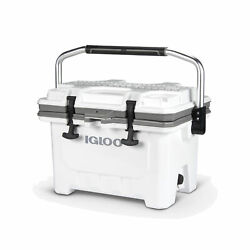 Igloo 00049829 IMX 24 Qt. Heavy Duty Injected Molded Construction Cooler White $119.99