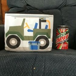 *NEW* Thirty One OFF TO LUNCH THERMAL TOTE In Off Road Fun - Cute Jeep Bag $25.00