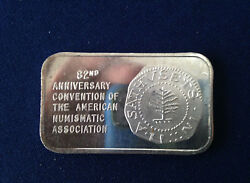 1973 Coin Galleries Ana Pine Tree Shilling Cgsf-5v Silver Art Bar P2035