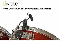 Dpa Dvote 4099d Instrument Microphone For Drum 4099-d +discount