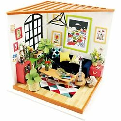 Diy Mini House Furniture Kit With And Accessories-home Decor- Model Building Fun