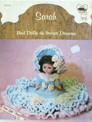 Vintage Abbey Doll Dress Clothing Crochet Pattern Book Fits 13 Or 14 Doll 1986