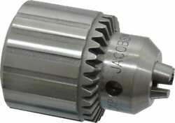 Jacobs 3/8-24, 5/64 To 1/2 Capacity, Threaded Mount Drill Chuck Keyed, 45.47...