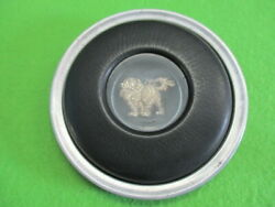 Isuzu 117 Coupe Steering Wheel Horn Button Genuine Old Car Used Jdm From Japan
