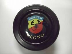 Abarth Legno Steering Wheel Horn Button Used Jdm From Japan F/s