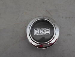 Hks Big Power Save Energy Steering Wheel Horn Button Used Jdm From Japan F/s