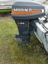 Used Outboard Motor 60 Hp
