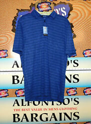 Van Heusen Mens 3 Button Polos Air Cooling Ideal Golf Fit 18.99 Free Shipping