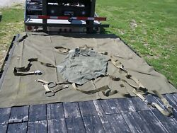 Military Surplus A-21 Cargo Bag Parachute Aerial Set Sling Carrier Or Camp Chair