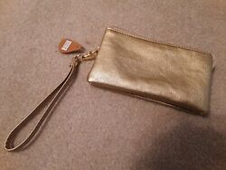Small Gold Clutch NWT $10.00