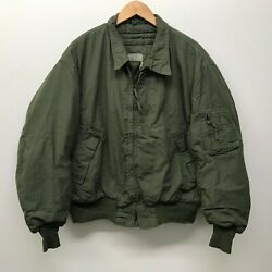Used Cvc Jacket Size L/r Cold Weather Combat Vehicle Tanker Jacket Us Army G-69