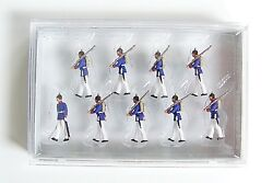 Ho Preiser Military 12186 Prussian Infantry Soldiers On Parade C.1910 Figures