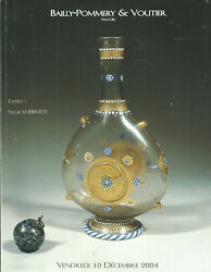 Bailly-pommery Paris Glass Renaissance To 19c Wine Goblets Opalines Catalog 2004