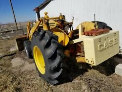Tractor Case 530 Construction King Loader Needs Steering Wheel And Injector Clean