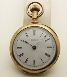Serial Number 10000 Cheshire Stem Attached Model In Near Mint Gold Filled Case