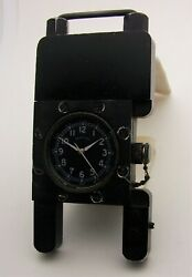 Hamilton Cold War Photographic Time Stamp Watch - Nuclear Tests Spy Planes Sub